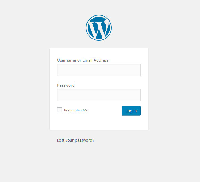 Wordpress fel vid login redirect
